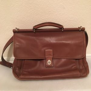 Vintage Coach Briefcase/Shoulder Bag